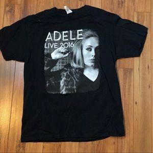Adele concert tshirt men's size L